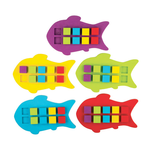 MAGNETIC FOAM FISH TEN FRAMES - Supplies by Teachers