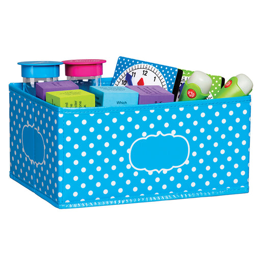Small Polka Dots Storage Bin