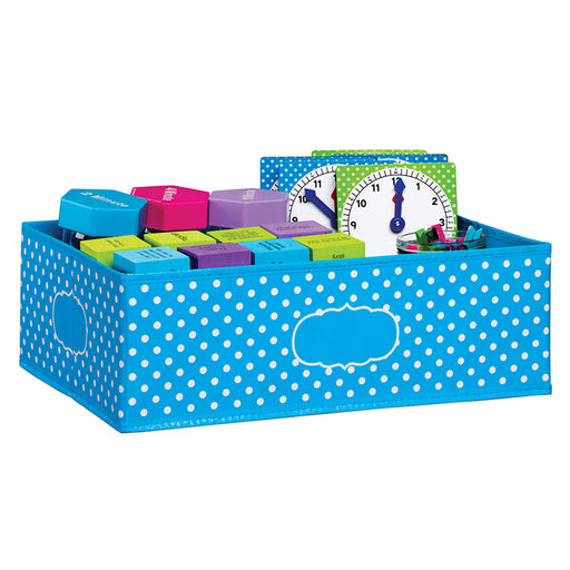 Medium Polka Dots Storage Bin