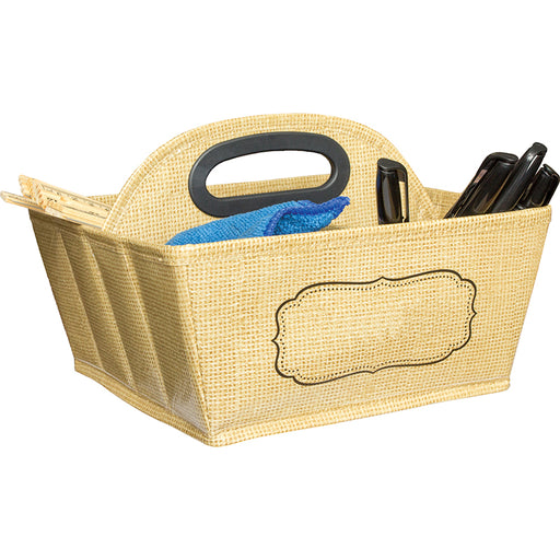 Storage Caddy Burlap