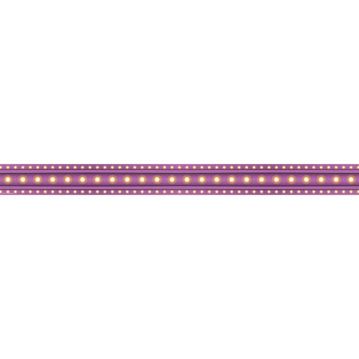 PURPLE MARQUEE STRAIGHT BORDER TRIM - Supplies by Teachers