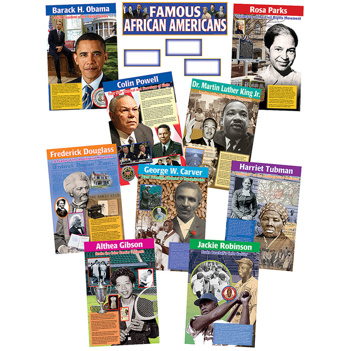 FAMOUS AFRICAN AMERICANS BB SET