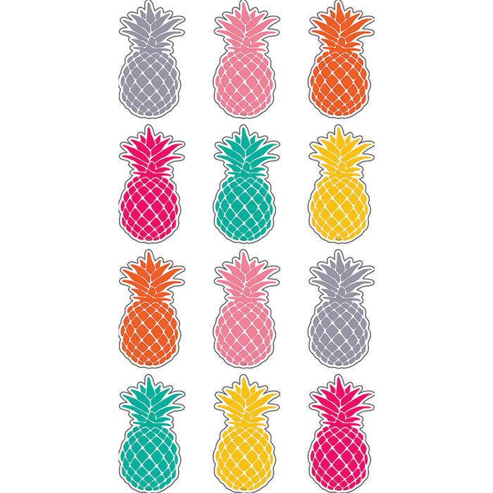 TROPICAL PUNCH PINEAPPLES MINI ACCENTS - Supplies by Teachers