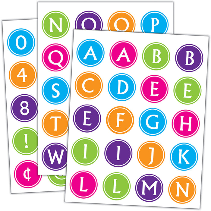 BRIGHTS ALPHABET STICKERS