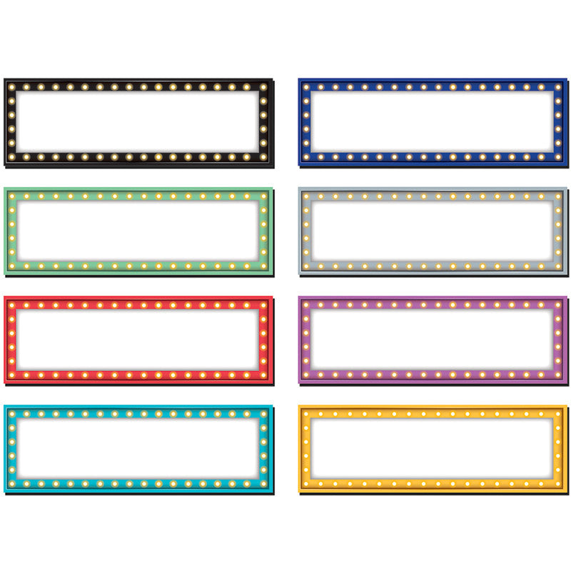 MARQUEE LABELS MAGNETIC ACCENTS - Supplies by Teachers