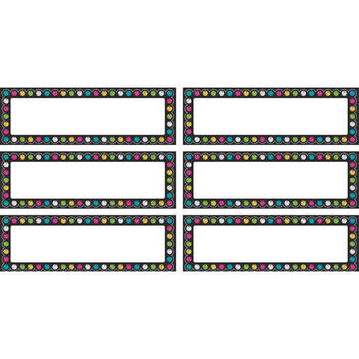 CHALKBOARD BRIGHTS LABELS MAGNETIC ACCENTS - Supplies by Teachers
