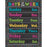 CHALKBOARD BRIGHTS DAYS OF THE WEEK CHART - Supplies by Teachers