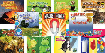 My Science Library Set of 11 Books Gr. 1-2 - Supplies by Teachers