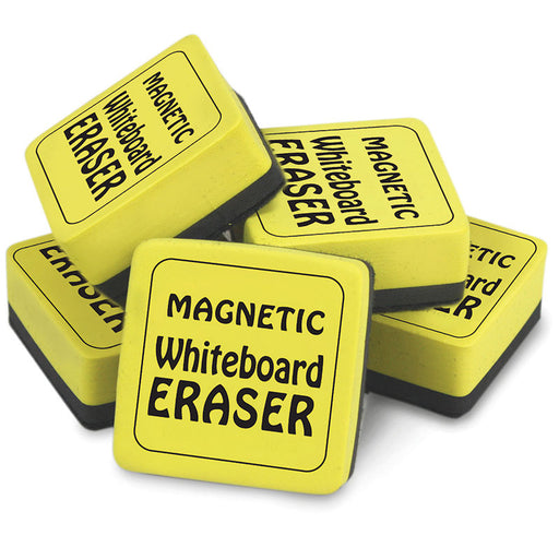 MAGNETIC WHITEBOARD ERASERS 12PK 2IN X 2IN - Supplies by Teachers