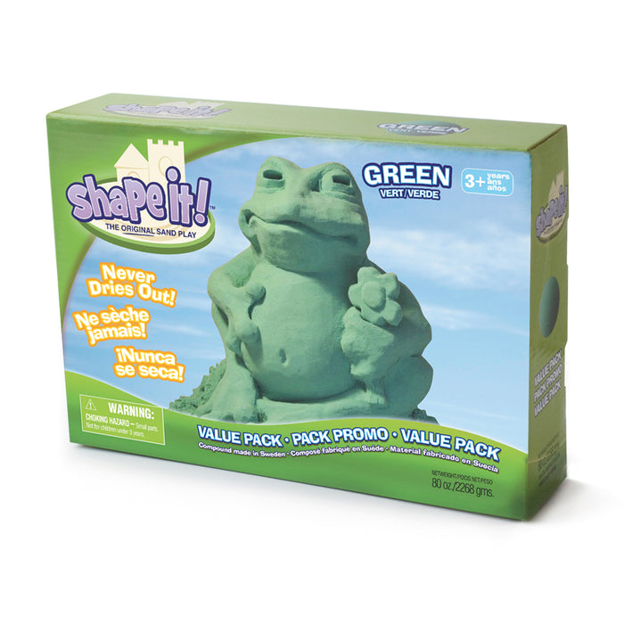 Shape It Galaxy Green 5 Lb Box - Supplies by Teachers
