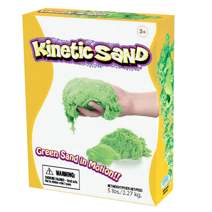 Kinetic Sand 5lb Green - Supplies by Teachers