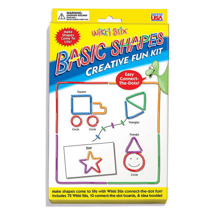 Wikki Stix Basic Shapes Kit - Supplies by Teachers