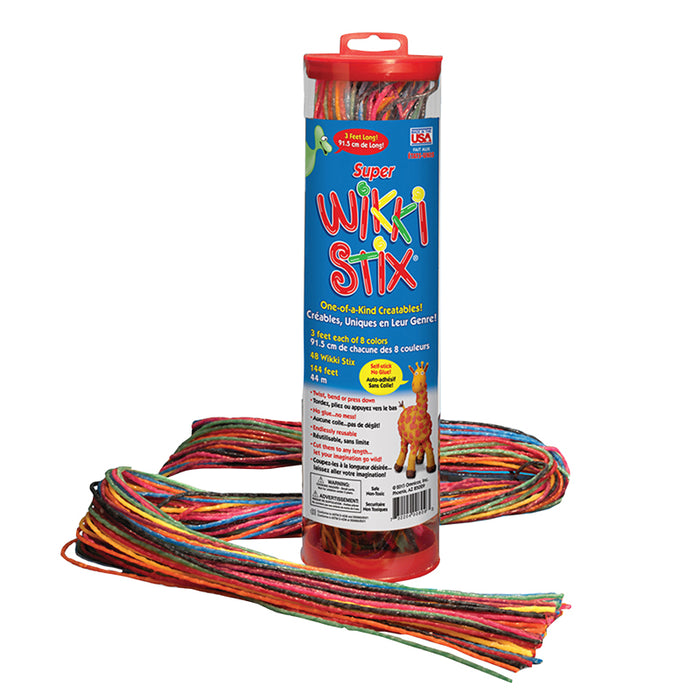 Super Wikki Stix 48ct - Supplies by Teachers