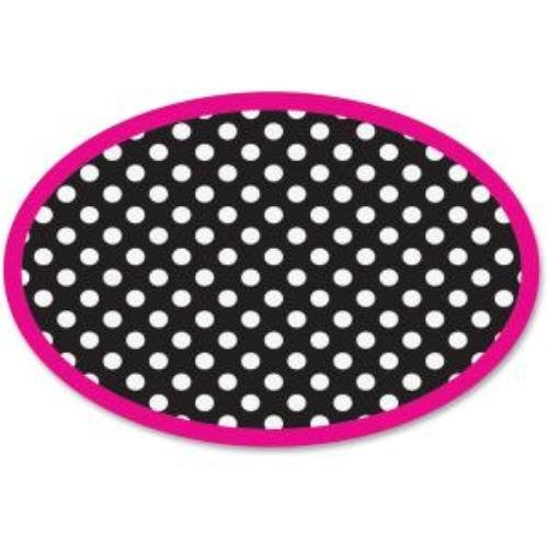 Black and White Dots Magnetic Whiteboard Eraser - Supplies by Teachers