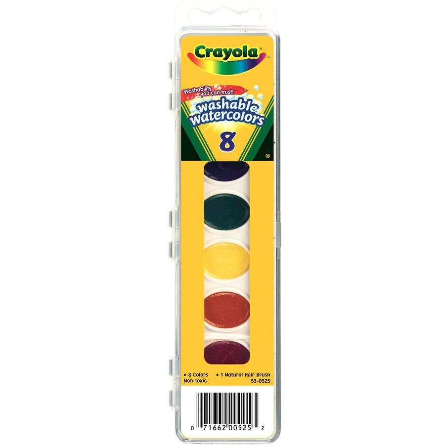 Crayola Watercolors 8 count