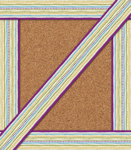 You-Nique Dots & Stripes Straight Borders