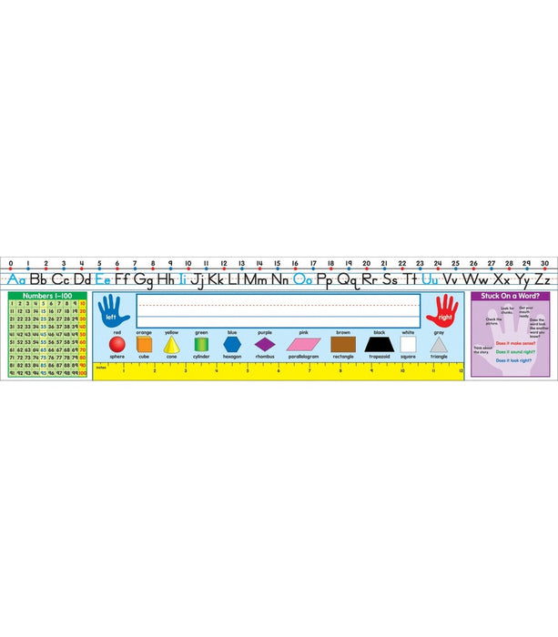 Traditional Manuscript Quick Stick Nameplate - Supplies by Teachers