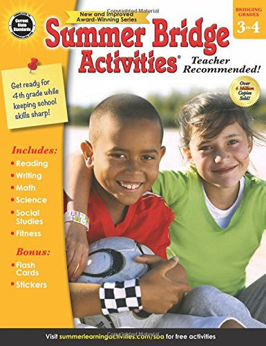 Summer Bridge Activities Grade 3-4 (FV) - Supplies by Teachers