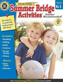 Summer Bridge Activities Grade K-1 (FV) - Supplies by Teachers