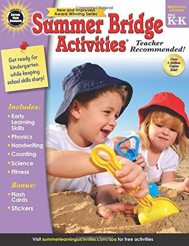Summer Bridge Activities Grade PreK-K (FV) - Supplies by Teachers