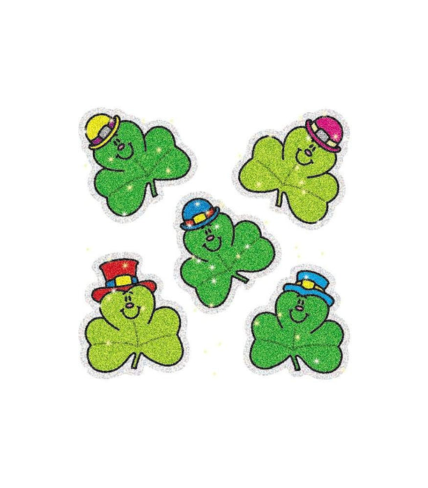 Shamrocks Dazzle Stickers - Supplies by Teachers