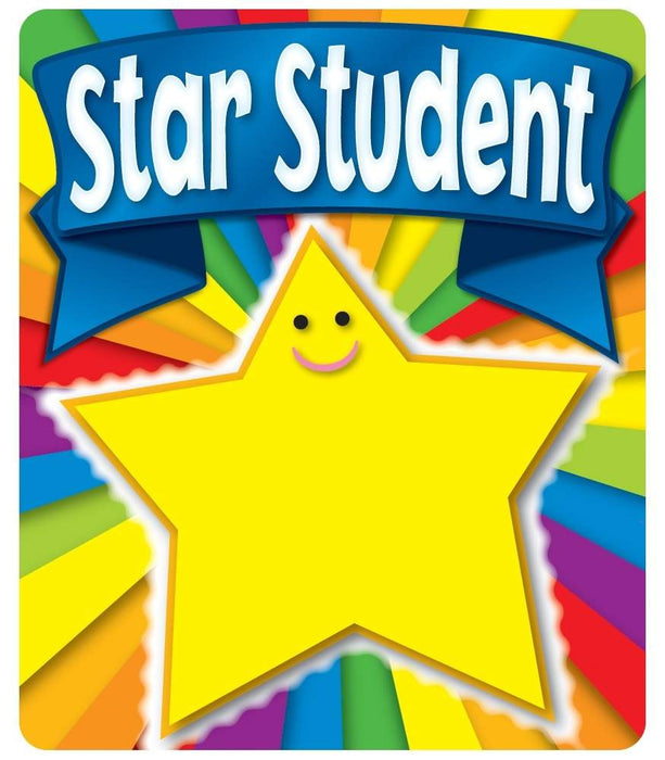 Star Student Motivational Stickers - Supplies by Teachers