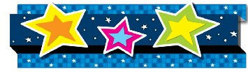 Stars Straight Border - Supplies by Teachers