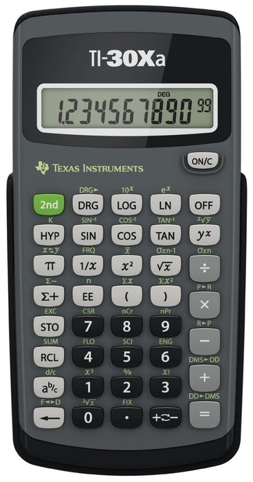 Texas Instruments TI-30Xa Scientific Calculator - Supplies by Teachers