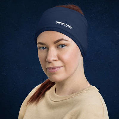 Blue Neck Gaiter Headband