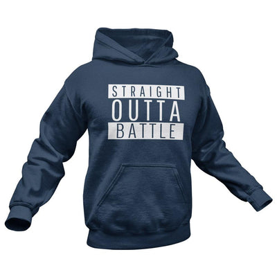 straight outta battle coronavirus hoodie