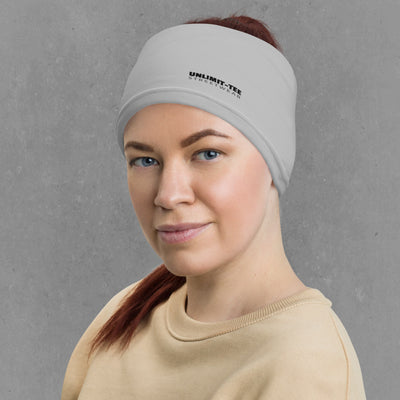 Grey Neck Gaiter Headband