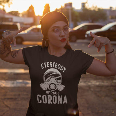 Coronavirus T-Shirt<br> Everybody VS Corona