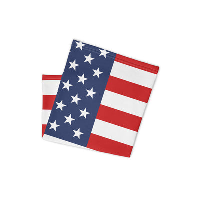 USA Flag Face Shield