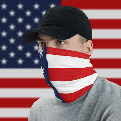 USA Flag Face Cover