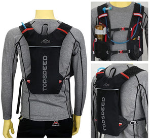 Hydration Backpack With 2L Bladder Water Bag