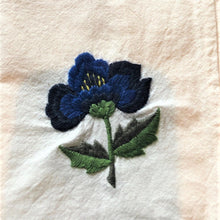 Load image into Gallery viewer, Embroidered cotton napkins - CUSTOM ORDER