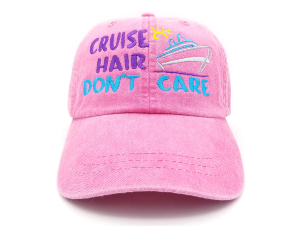 Cruise Hair Don't Care Hat (with Ship)