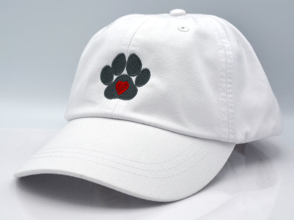 Heart in Dog Paw Hat