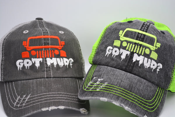 Got Mud? Jeep Themed Trucker Hat