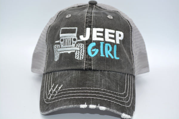 Jeep Girl Trucker Hat