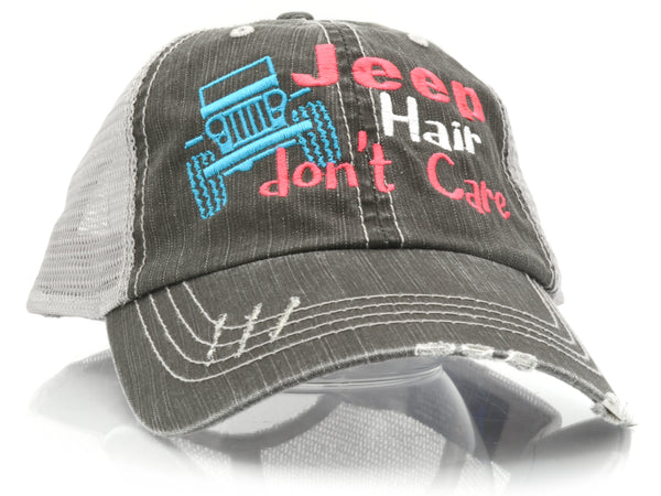 Jeep Hair Don't Care Trucker Hat