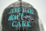 Jeep Hair Don't Care Classic Edition Trucker Hat