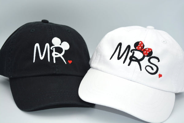 Mr. & Mrs. Mickey Mouse Ears Hat