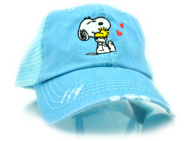 Peanuts Snoopy & Woodstock Trucker Hat