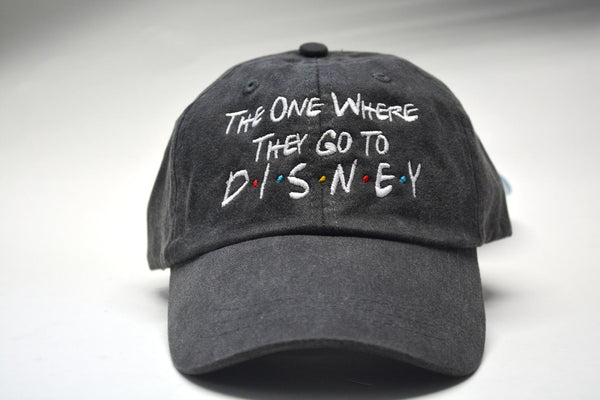 The One Where They Go To Disney Friends Hat