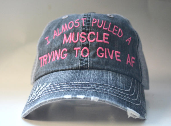 I Almost Pulled A Muscle Trying To Give AF Trucker Hat