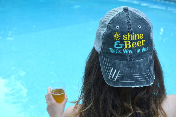 Sunshine and Beer Trucker Hat