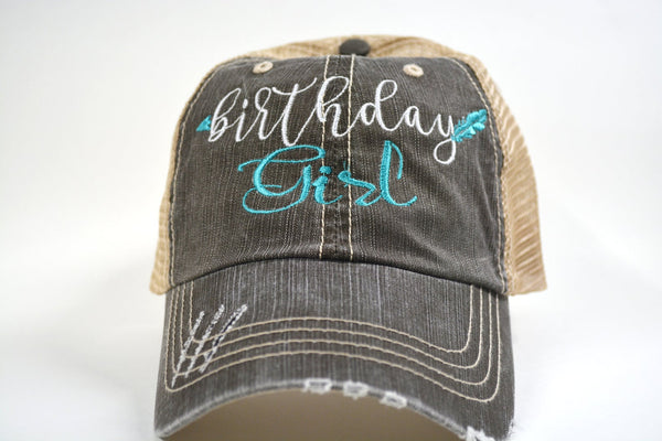 Birthday Girl Arrow Trucker Hat