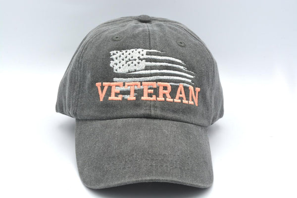 US Flag Veteran Hat