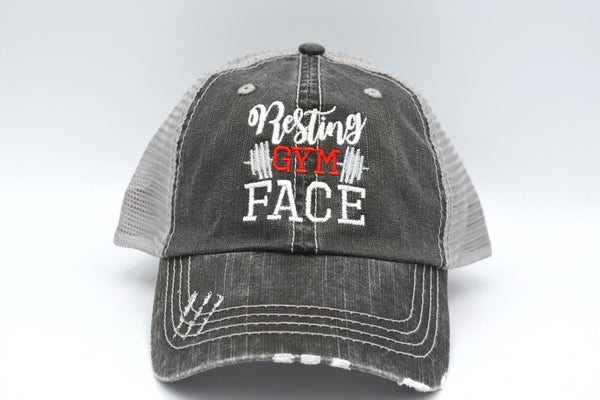 Resting Gym Face Trucker Hat